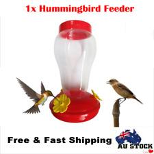Pets Hummingbird Feeder Food Feeder Garden Outdoor Free Nectar Patio Bird Gift