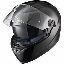 Agrius Rage SV M Gloss Black Solid Full Face Motorcycle Helmet Bike Seconds Lid
