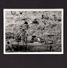 Nudism NUDE AT ROCKY COAST / NACKT AN FELSIGER KÜSTE FKK * Vintage 60s Photo