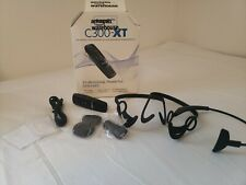 Blue Parrott C300-Xt Wireless Headset Missing Some Wearing Accessories Read