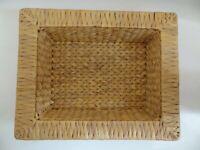 Edle Deko-Schale Wasserhyazinthe Seegras Variantenwahl 37x26x8cm rechteckig