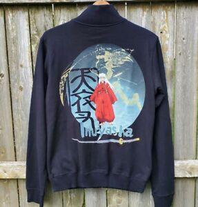 Vintage Inuyasha sweatshirt jacket anime manga zip up