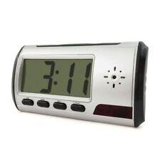 2017 Top Digital Spy Alarm Clock 2mp Hidden Video Camera DVR Motion Detector UK
