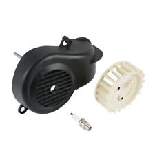 ATV Air Cooling Fan Shroud For Polaris Predator Sportsman Scrambler 90 2-Stroke