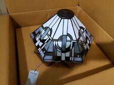 1 PAIR of Interiors 1900 TIFFANY Art Deco STYLE LAMP SHADES