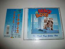 BEACH BOYS - RARE JAPAN CD - GOLDEN HITS - w/OBI