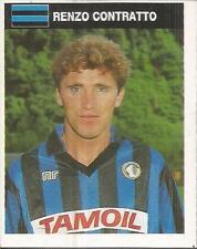 [AA] FIGURINA CAMPIONI & CAMPIONATO 1990/91-ATALANTA-CONTRATTO