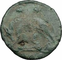 "Constantine I The Great Ancient Roman Coin Romulus & Remus ""Mother"" wolf  i32676"