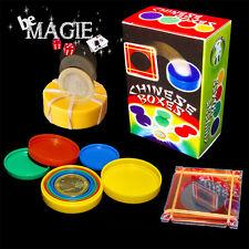 Crystal coin case + Boites Gigognes - Tour de Magie