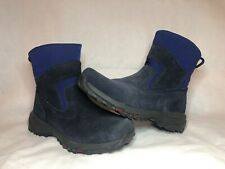 LL Bean Thinsulate  Pull On Winter Boots Women's Size 8.5 Boots Navy Blue
