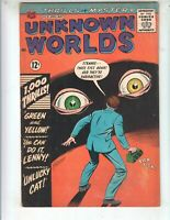 """Unknown Worlds 31 VG+ (4.5) 5/64 ACG! """"Green and Yellow!"""""""