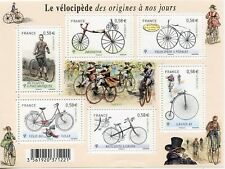 TIMBRE FRANCE NEUF BLOC  FEUILLET N° F4555 ** LE VELOCYPEDE / VELO