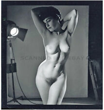 Semi nude Betty Page model female fine art photograph woman girl print Bettie-z