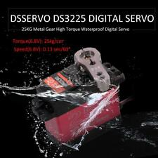 DSSERVO DS3225 25KG Metal Gear High Torque Waterproof Digital Servo for RC V9D6