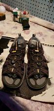 Men's Keen Leather Waterproof Hiking Walking Sport Sandals Size 10