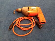 Vintage Black & Decker 3/8 inch Electric Drill with Chuck
