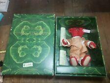 Steiff Baby Alfonzo Red Plush Mohair Teddy Bear Limited Edition 1995