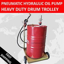 Pneumatic Hydraulic Oil Pump with Heavy Duty Drum Trolley/ Oil Dispenser