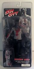 "SIN CITY 7.75"" BLOODY MARV Series 2 NECA Reel Toys Black and White Severed Head"