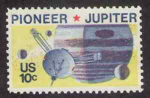 US. Pioneer 10 Passing Jupiter, Space Issue. MNH. 1975