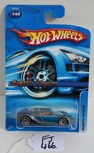 Hot wheels HW 2006 Bugatti Veyron Grey & Blue Collector #144 FNQHotwheels FJ466