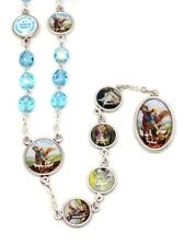 St Michael Chaplet Rosary with Enamel Medals