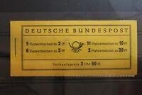 BRD MH 2a ** postfrisch Markenheftchen Bundesrepublik Deutschland #RZ150