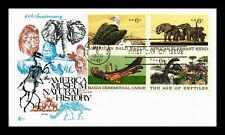 US COVER AMERICA MUSEUM NATURAL HISTORY FDC SETENANT COVER CRAFT CACHET