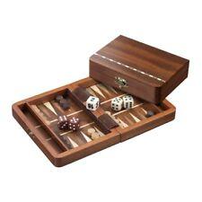 Backgammon - Travel Game - Cassette - Miltiadis - Wood - Mini