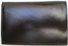 -AUTHENTIQUE portefeuille-porte-monnaie   cuir  TBEG vintage 70's