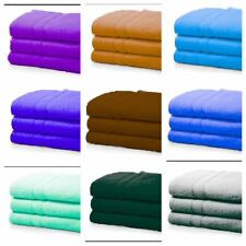 3 x Large Super Jumbo Bath Sheets Egyptian Combed Big Towels Extra  Towels Gift
