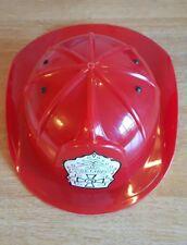 Jefe de bomberos casco para bombero Plástico Ajustable vestirse