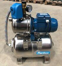 "4 bar Pentax 1"" Water booster set Stainless steel pump MPX100/4 automatic pump"