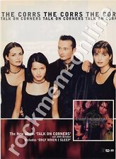 Corrs The Talk On The Corners LP Advert
