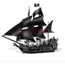 804pcs Building Bricks Pirates of the Caribbean the Black Pearl Ship Model Toys