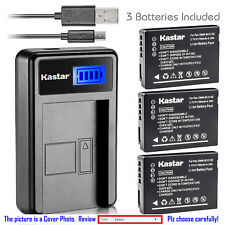 Kastar Battery LCD Charger for LEICA BP-DC7 & LEICA V-LUX 20 V-LUX 30 V-LUX 40