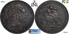 iNi  Great Britain, George III, Crown, nicely toned, 1820, LX, PCGS MS 62