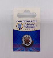 Queen Elizabeth Diamond Jubilee Collectors Pin