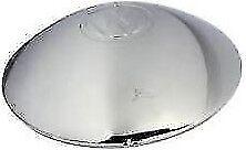 VW BUG BUS GHIA  CHROME HUB CAP WITH LOGO  1946-65 113601151