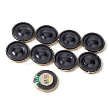 8 Pieces 28mm 8Ohm 8Ω 1W Internal Magnetic Round Audio Speaker Loudspeaker TW