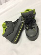 All Star Converse Chuck Taylor High Top Gray Youth Size 1 Uk 13.5 Eur 32...C20