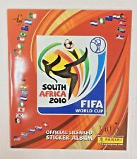 2010 FIFA WORLD CUP SOUTH AFRICA  SOCCER STICKER ALBUMS - UNUSED LOT OF FIVE (5)