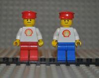 Lego Figuren shell001 shell013 aus Sets 6695 1468