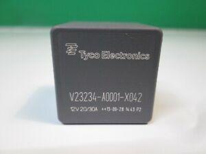 TYCO 12V 5 PIN 30A RELAY 1626239 V23234-A0001-X042 EV 144 NEW