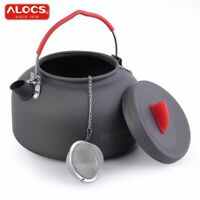 Portable Outdoor Cookware 1.4L Aluminum Ball filter Tea Stainless 1pc with Pot c