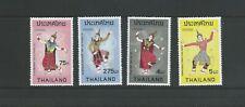 Thailand Scott # 697-700 (Dance) Mnh