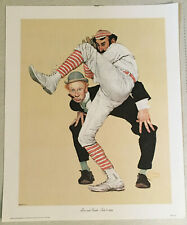 Norman Rockwell - Low and Inside - July 8, 1939 - Canvas Print (1972) - Baseball