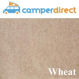 2m x 7m - Wheat Van Lining Carpet Kit 4 Way Stretch Inc 7 Tins High Temp Spray