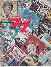 1977  Minnesota Twins MLB BASEBALL YEARBOOK