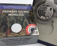 France 2014 Grand Guerre 50 euro € Silver Proof 5 Oz Taxis Marne 1914 Frankreich